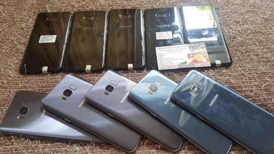 Vừa Về 50c SAMSUNG GALAXY S8| S+, ZIN KENG/ Used giá quá RẺ: 5t790k - 7