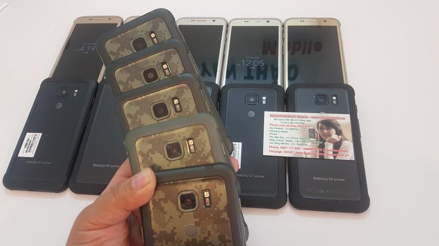 Vừa Về 80c Samsung S7 active/MỸ-CHỐNG VA ĐẬP- ưa Chuộng giá RẺ: 2.390K - 5