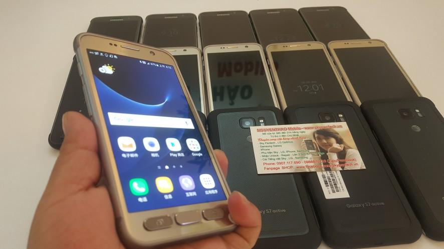 Vừa Về 80c Samsung S7 active/MỸ-CHỐNG VA ĐẬP- ưa Chuộng giá RẺ: 2.390K - 1