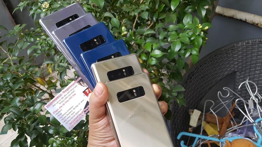 Quà Tặng NOEL SALE Sập GIÁ-Samsung GALAXY NOTE 8 Like Fbox/used từ 8t7 - 5