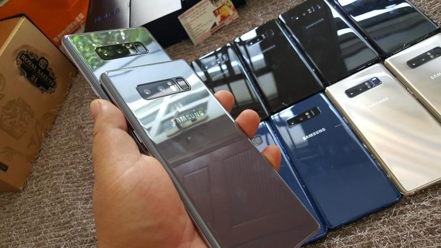 Quà Tặng NOEL SALE Sập GIÁ-Samsung GALAXY NOTE 8 Like Fbox/used từ 8t7 - 11