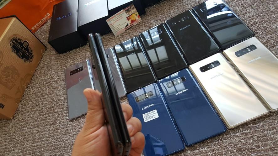 Quà Tặng NOEL SALE Sập GIÁ-Samsung GALAXY NOTE 8 Like Fbox/used từ 8t7 - 10